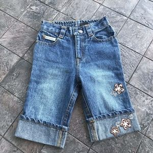 Calvin Klein Cuffed Jeans Toddler Size 18 MOS